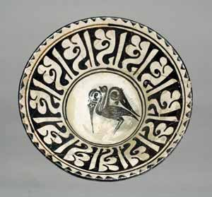 Persian Ceramic bowl owned by the San Diego Museum of Art, 1971.72